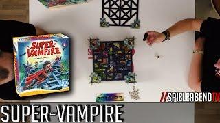 SpieleabendTV stellt euch Super-Vampire vor.► Amazon: http://amzn.to/2ggzsqG0:00 Regeln8:06 Spiel23:43 FazitFacebook: www.facebook.com/spieleabendtv----------------------------------------------------Wenn euch unsere Videos gefallen, dann freuen wir uns auf ein weiteres Abo. =) Wenn nicht, dann könnt Ihr uns den Grund gerne mitteilen.www.spieleabendtv.de