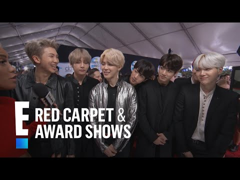 BTS Talks Emojis and More at the 2017 AMAs | E! Red Carpet & Live Events