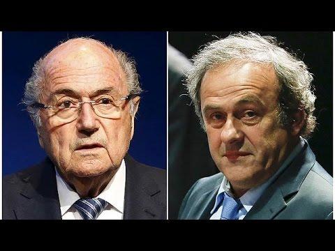 FIFA: Εκτός ποδοσφαίρου Μπλάτερ- Πλατινί για οκτώ χρόνια!