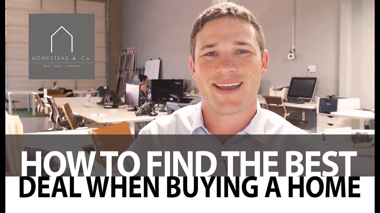Homebuyer Tips for Finding the Best Deal