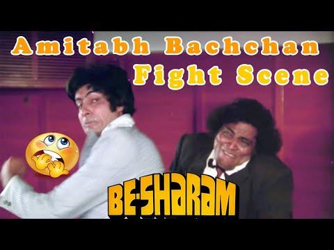 Video Amitabh Bachchan Fight Scene | Besharam Hindi Movie download in MP3, 3GP, MP4, WEBM, AVI, FLV January 2017