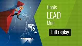 IFSC World Championships Paris 2016 - Lead - Finals - Men (Fr) by International Federation of Sport Climbing