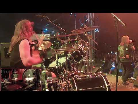 EXODUS@Blood In, Blood Out-Tom Hunting-Live in Poland 2020 (Drum Cam)