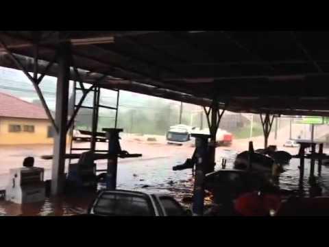 Chuva em agudos sp