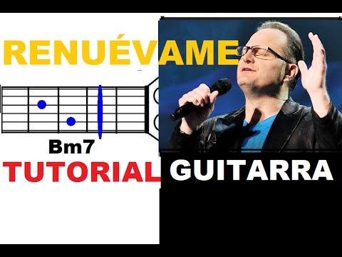 (57) Renuévame – Marcos Witt (tutorial Guitarra – Acordes sencillos) °°NUEVO°° ♪ ♫ ♪