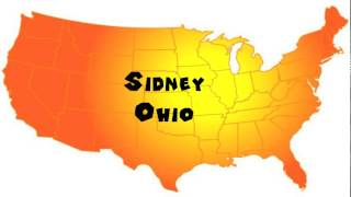 Sidney (OH) United States  city photos : How to Say or Pronounce USA Cities — Sidney, Ohio