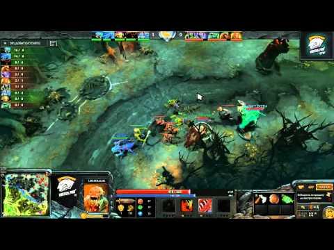 Virtus.pro Dota 2 Non-PRO LAN Cup #2 Semifinal: Clur vs Chop
