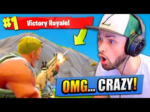 The CRAZIEST ending EVER...! (FORTNITE: Battle Royale)