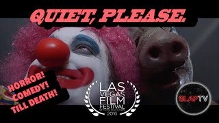 Some clowns you just don't mess with. Here's our promo for SlapTV! Horror and comedy. Together 'till death.http://www.slaptv.comSlapTV. Provocative. Dangerous. Cuddly.Watching our videos may be the most important thing you do this week. For more madness, subscribe to our YouTube Channel!http://www.youtube.com/subscription_c...Change your life by liking us on Facebook!https://www.facebook.com/slapTVdotcomGo here if you want to live!http://www.slaptv.comImpress your mom by following us on Twitter!https://twitter.com/slaptvdotcomHave you ever heard of Instagram??!!http://instagram.com/slaptvdotcomWe are required to have one so here is our Google+ Page!https://plus.google.com/u/5/b/1050088...Director: Roberto RaadStarring: Tom Peck as ClownSteven Stahl as Serial KillerRoberto Raad as Obnoxious manProducer: Roberto RaadCo-Producer: G. WilsonWriters: Roberto RaadG. WilsonStory: Roberto RaadG. Wilson Steven SmithDirector of Photography: Heather AradasSpecial Effects: Joshua Brokaw & Junior Rubio (Break All Productions)Make Up:Leigha Keaveny1st AC:John BartleyGaffer: Alberto Triana1st AD: Ngan HaSound: G. WilsonEditor: Heather AradasProduction Assistants: Connor HooperTito OjedaCarlos MartinezExtra: Beth MeltonA SlapTV Production