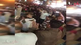 احتفالات شعبية بنتيجة الاستفتاء بميدان الأوبرا