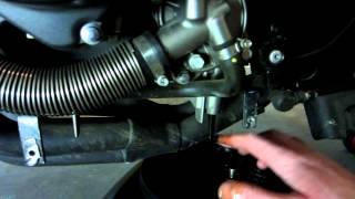 10. Honda 919 Oil change