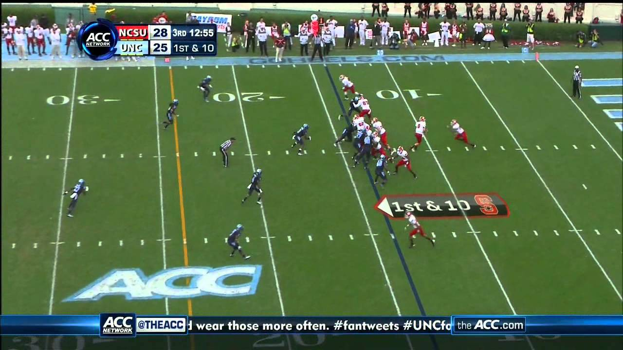 Sylvester Williams vs NC State (2012)
