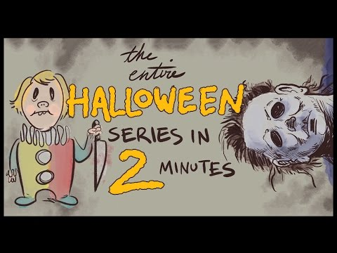 L'intera Saga Horror di Halloween in 2 Minuti!
