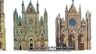 Orvieto Italy  City new picture : Gothic Nuts 1: facade of ORVIETO Cathedral in Italy