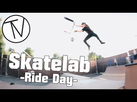 Skatelab Ride Day │ The Vault Pro Scooters