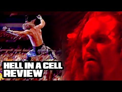 Going In Raw Reviews: IN YOUR HOUSE BADD BLOOD 1997 (First Hell in a Cell!) (видео)