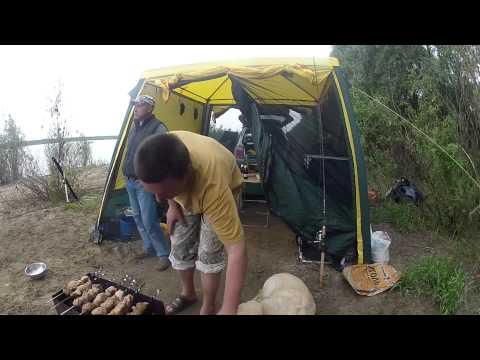Отдых на оке с палатками и рыбалкой