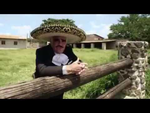 Vicente Fernández lanza corrido de Hillary Clinton