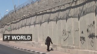 Visit our brand new YouTube channel, FT Life at: http://bit.ly/2qzoKSt Israel is closing gaps in its controversial West Bank barrier and building high-tech fences ...