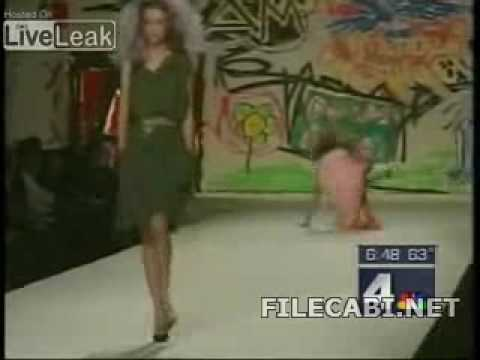 funny catwalk fall news report