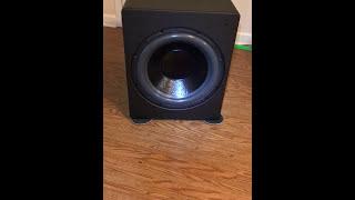 Power Sound Audio S3601 Subwoofer Video