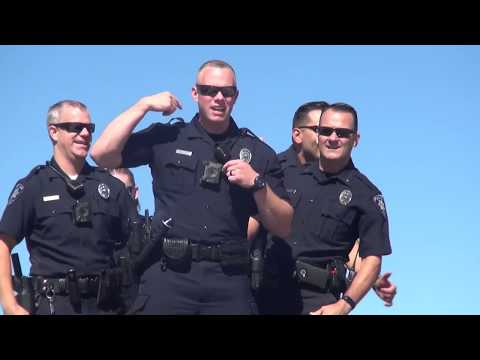 Meridian Police accept the #LipSyncChallenge