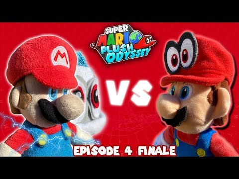 Super Mario PLUSH Odyssey Shorts: Episode 4 Finale Mario vs Mario?