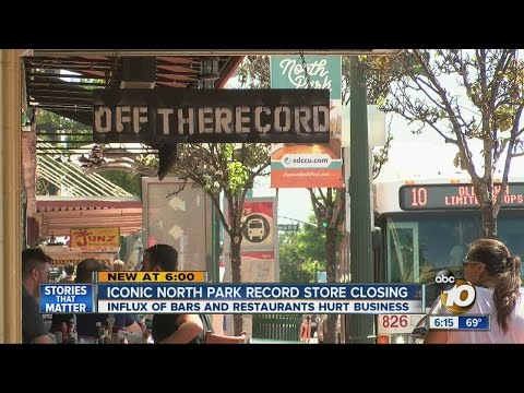 Record Store opened 1978, Closes for good on Saturday in Hillcrest.