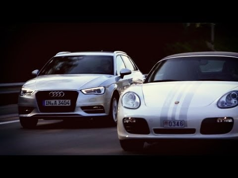 Audi A3 5D Тест-драйв Audi A3 Sportback 2013 // АвтоВести 82