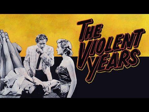 The Violent Years (1956) | Full Movie | Jean Moorhead, Barbara Weeks