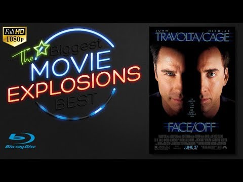 The Best Movie Explosions: Face Off (1997) Speedboat Chase [HD]