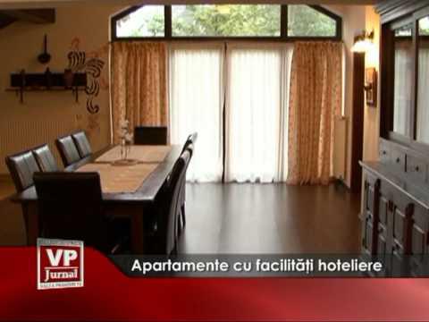 Apartamente cu facilităţi hoteliere
