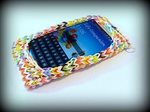 Чехол для телефона из резинок своими руками легко