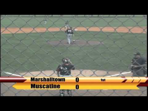 Video Replay: Marshalltown Baseball vs. Muscatine (4/23/2016) Game 1