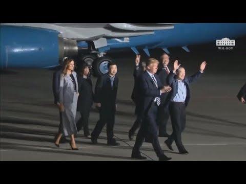 Έφτασαν στις ΗΠΑ οι τρεις Αμερικανοί που απελευθερώθηκαν από την Β. Κορέα