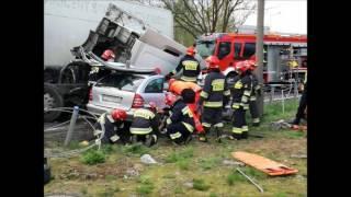 Nie miał szans uciec! Potężne zderzenie mercedesa z ciężarówką – Oświęcim!