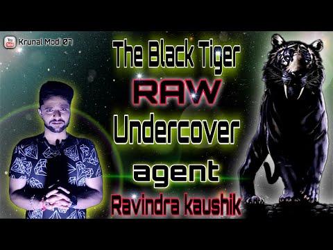 #The_Black_Tiger // #Ravindra_kaushik // #Real_story_of_RAW_agent