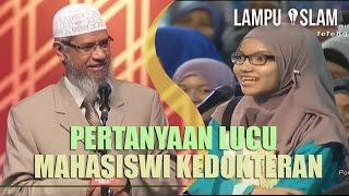 Video Pertanyaan Lucu Mahasiswi Kedokteran Pada Dr. Zakir Naik MP3, 3GP, MP4, WEBM, AVI, FLV Oktober 2017