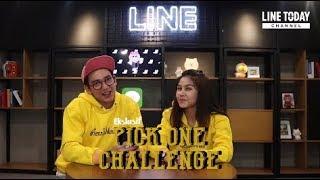 Download Video Vanesha Prescilla Tersipu Malu saat Jawab Pertanyaan Adipati Dolken di 'Pick One Challenge' MP3 3GP MP4
