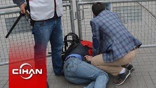 Taksim'de çok sayıda kişi gözaltına alındı