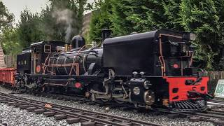 Accucraft NG16 2-6-2+2-6-2 No143 Runs On The Coombe Hill Railway In June 2017