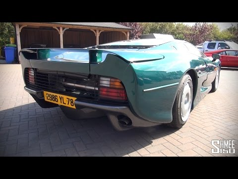 Drive - An incredibly special opportunity to take a Jaguar XJ220 for a test drive and discussion of the first experience doing so. The car is at Simon Furlonger Specialist Cars who invited me along...