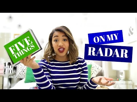 On My Radar - Five favorite things right now (DEC 2015) // COLOR ME COURTNEY