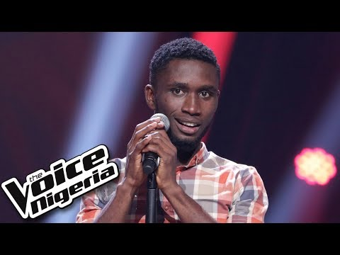 "Daniel Diongoli sings ""Zuchiya daya"" / Blind Auditions / The Voice Nigeria Season 2"