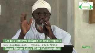 Download Lagu Les lois positives (laïques) et leurs impacts du 20-07-2013 à Thies_partie 01 Mp3