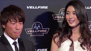 田村淳、橋本マナミ/「NEW VELLFIRE Presents VELLFIRE LEGENDプロジェクト」 発表会