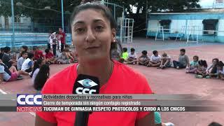 Actividades deportivas y recreativas para niños