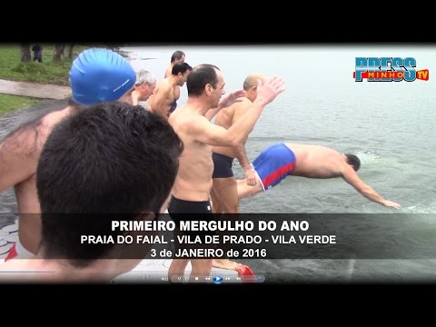 1º Mergulho do Ano - Vila de Prado