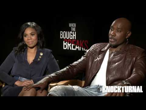 Morris Chestnut, Regina Hall,  Jaz Sinclair Talk 'When the Bough Breaks'