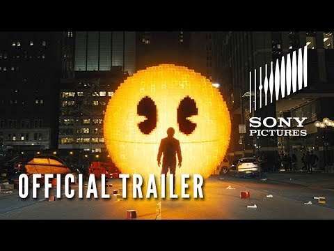 pixels - trailer originale 2015